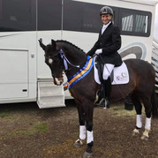 Winter Dressage Championships - Vince Julier and Upano