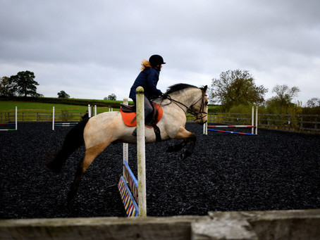 Jumping with Kelly Turner