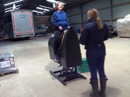 Warming up for the year with rider biomechanics