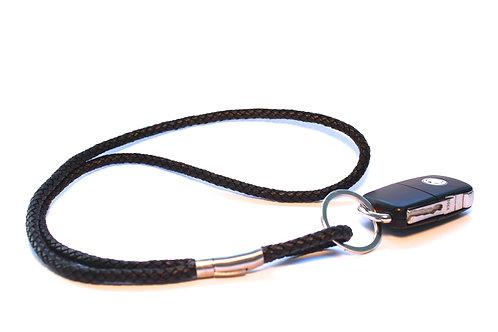Keyhanger Flettet læder