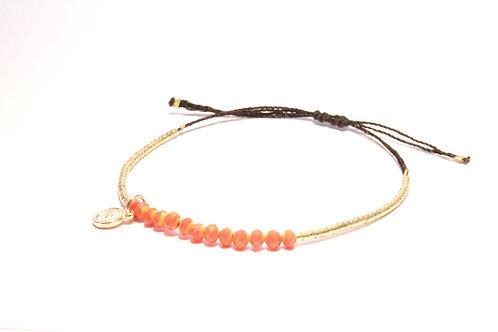 Golden Orange Armbånd