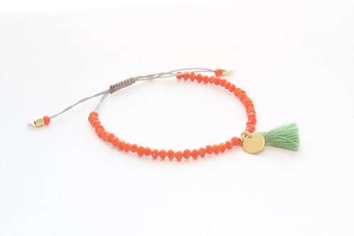 NEW Mallorca orange armbånd