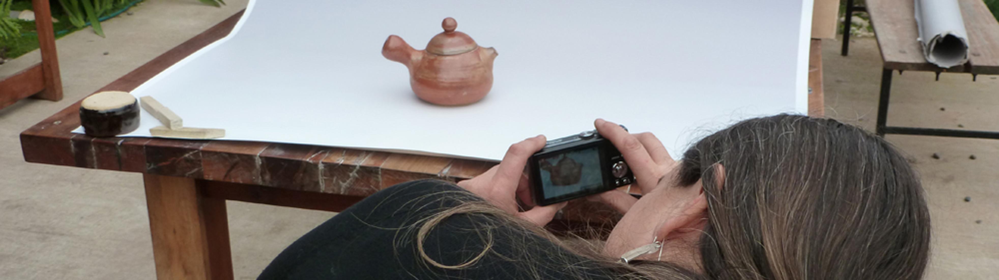 Taller fotografiando piezas