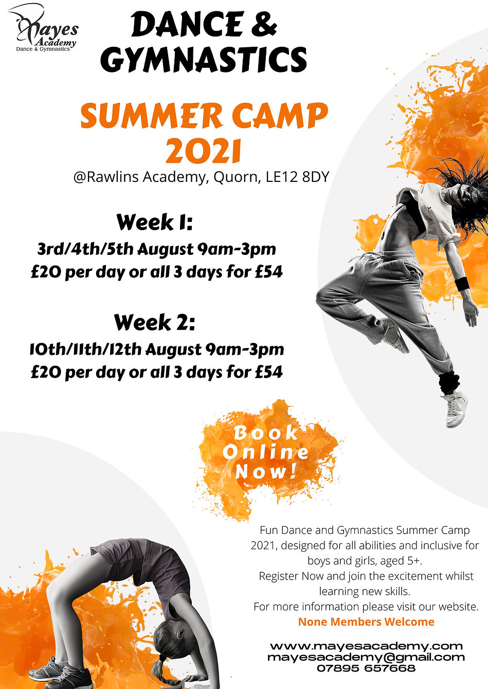 Summer Camp 2021 Dance & gymnastics (1).