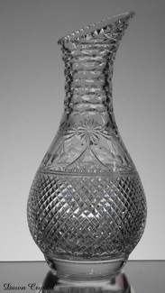 english hand made full lead crystal wine carafe size 11 x 5 inches Call for price