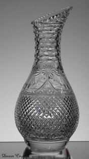 english hand made full lead crystal wine carafe size 11 x 5 inches £150.00