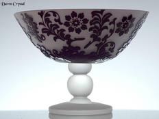 Cameo Glass Bowl
