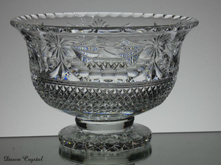 unique small footed bowl size 7.5 x 5 inches £150.00