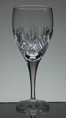 english hand made full lead crystal hand cut tracy pattern size 8 x 3.3 inches £21.00 each