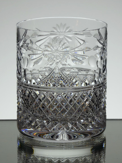 24% lead crystal large whisky size 4 x 3.3 inches £35.00 each
