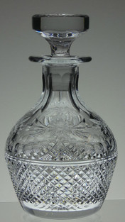 Rare Old Stuart crystal decanter in beaconsfield slight second size 9.5 x 5.5 £95.00
