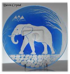 Unique Elephant Engraving By John Everton