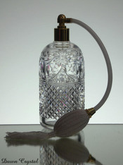 English Hand made Large Perfume Bottle With Spray size 17.5 x 6cm £65.00 spray also comes in orange and black