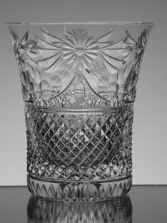 English Hand Made Full Lead Crystal Whisky Glass Hand Cut In The Beaconsfield Pattern £35.00 Each  Size 11 x 9.5 cm Limited