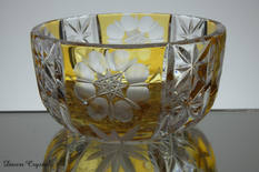 small rare yello dish with flowers £35.00