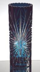 Modern Blue Cased Vase