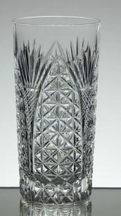 24% Lead Crystal Highball Gin Glass Hand Cut £25.00 Size 15 x 7 cm