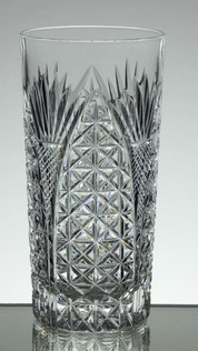 24% Lead Crystal Highball Gin Glass Hand Cut £25.00 Size 15 x 7 cm call to buy