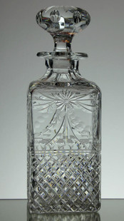 Whisky Decanter  Beaconsfield Size 26 x 9 x 9 cm  £120.00