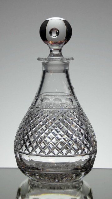 Dartington Crystal decanter hand cut in the grassmear pattern size 10 x 5 inches £120.00 ( one only )