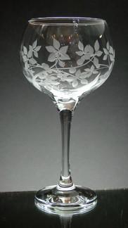 large gin glass