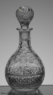 english hand made liquor decanter size 7.5 x 3.5 inches £55.00 ( 2 only )