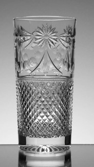 24% Lead Crystal Highball Glass Hand Cut In Beaconsfield Pattern  £30.00 Each  Size 15 x 7.5 cm