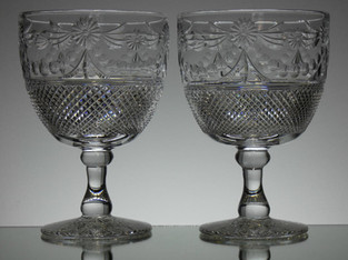 Pair if chalices beaconsfield pattern size 24 x 16.5 cm £300.00