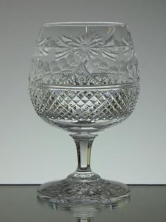 Brandy Glass Beaconsfield Pattern Size 13 x 8.5 cm £30.00 each