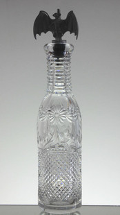 Crystal Bottle  Beaconsfield  Size 29 x 7.5 cm  £150.00 ( 1 Of 2 )