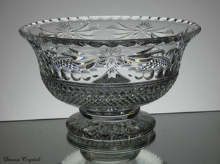 medium footed bowl size 8.5 x 5 inches £150.00