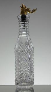 Crystal Bottle  Church Window Size 29 x 7.5 cm £150.00 Unique
