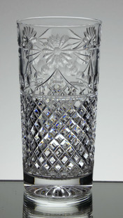 24% lead crystal highball glass size 6 x 2.3 inches £30.00 each