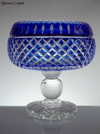 Blue Cased Booted Bowl
