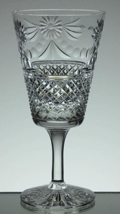 English Hand Made  Full Lead Crystal Hand  Cut In Beaconsfield  Plattern £35.00 Each Limmited Size 18 x 8.5 cm