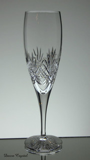 english hand made full lead crystal champagne glass hand cut tracy pattern size aprox 8.5 x 2.5 inches £21.00 each