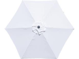 9ft Market Umbrella White.png