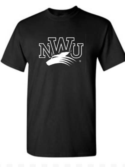 NWU Black Out Cancer T-Shirt