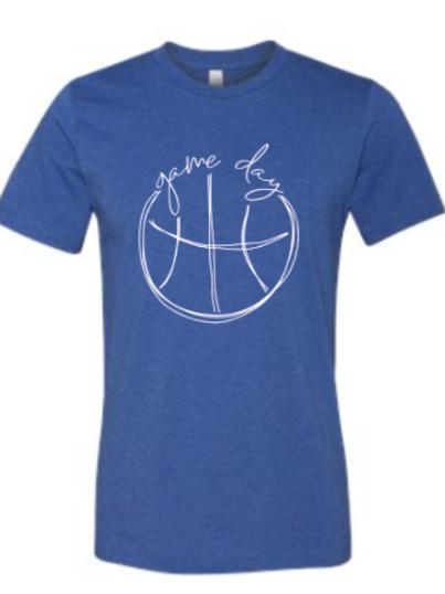 Ravenna Basketball T-Shirt - Bella Canvas