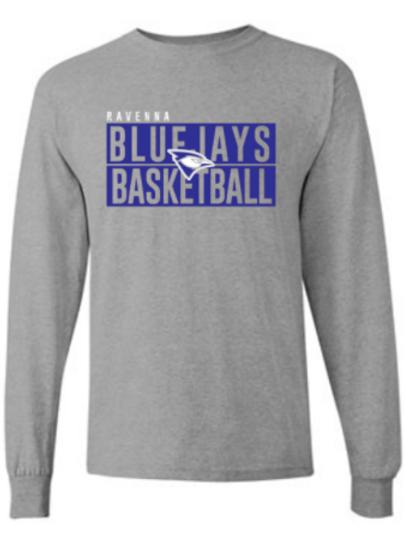 Ravenna Basketball Longsleeve - Gildan