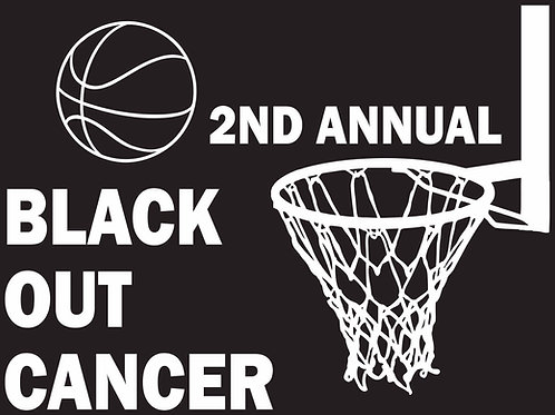 Gildan Black Out Cancer T-Shirts