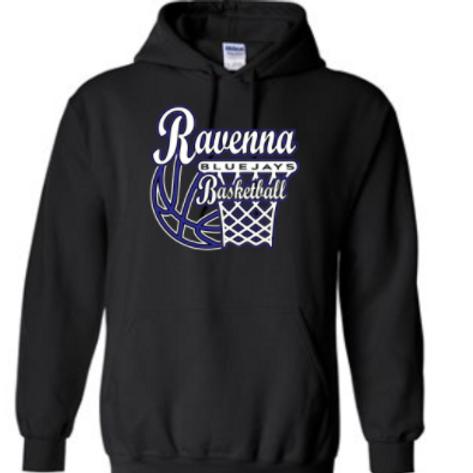 Ravenna Basketball Hoodie - Gildan