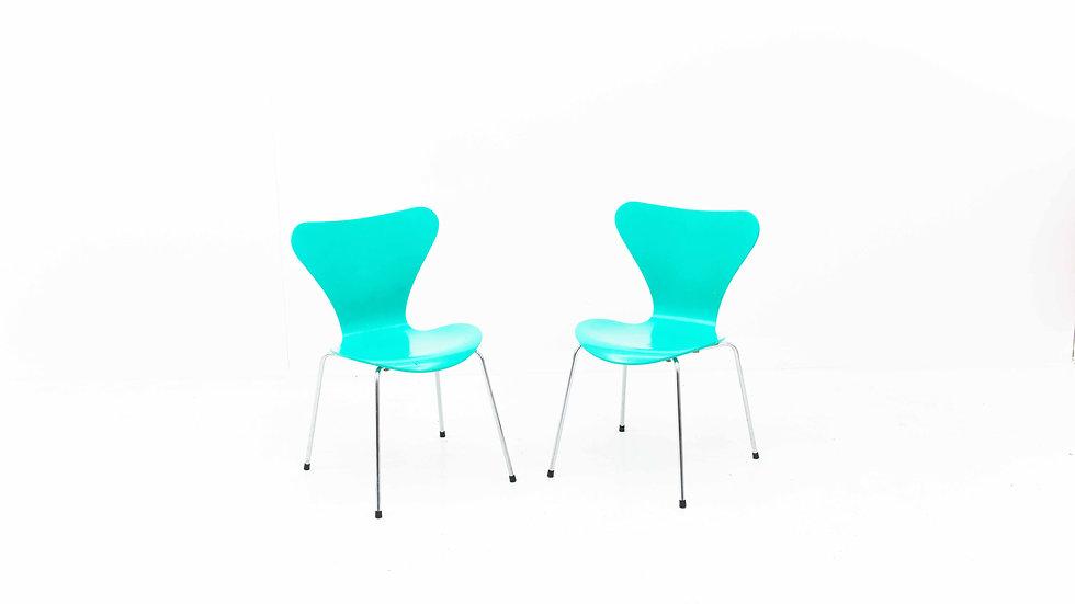 Fritz Hansen 3107 Stuhl von Arne Jacobsen
