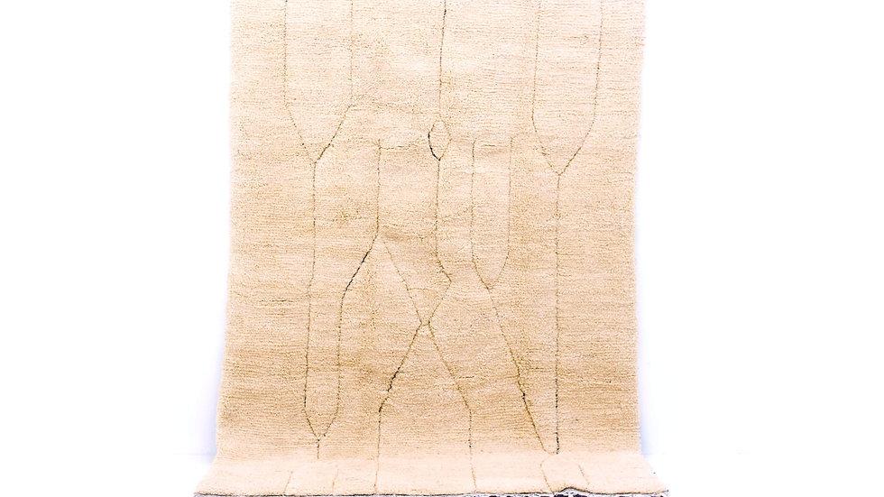 Grosser Beni Ourain Teppich aus Marokko