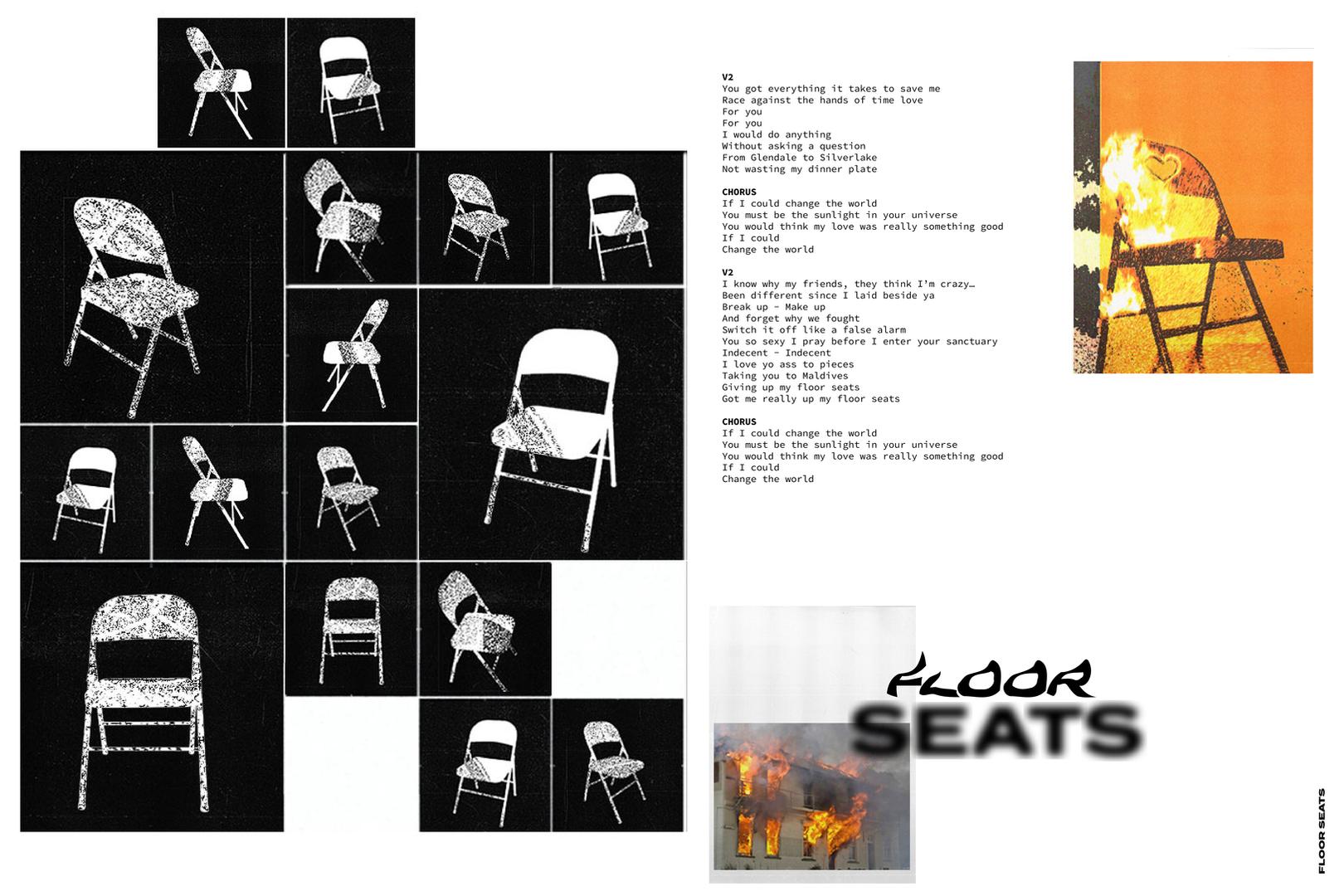 LO BOII FLOOR SEATS  X LAUREN KESSLER