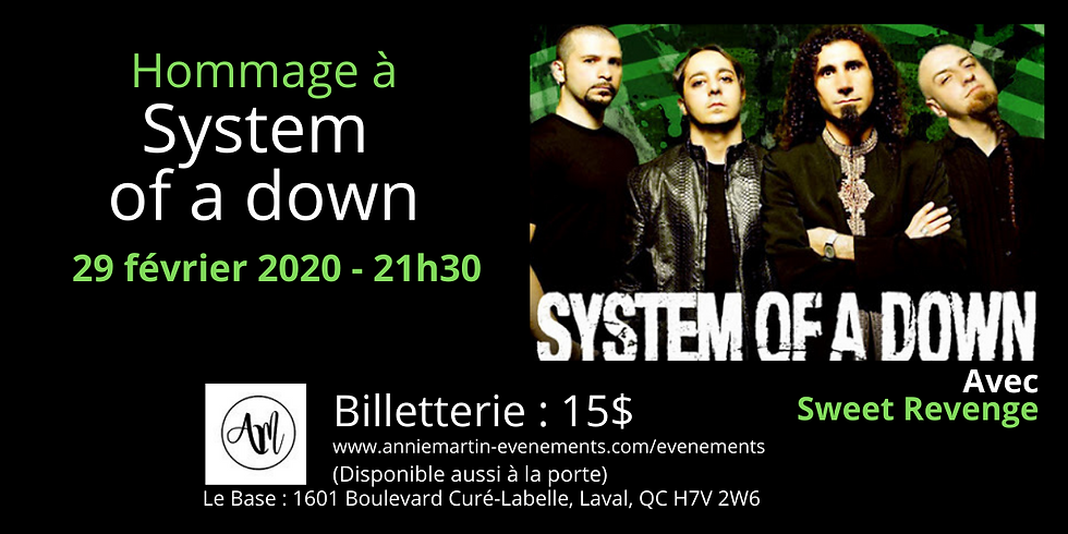 System of a down (Hommage)