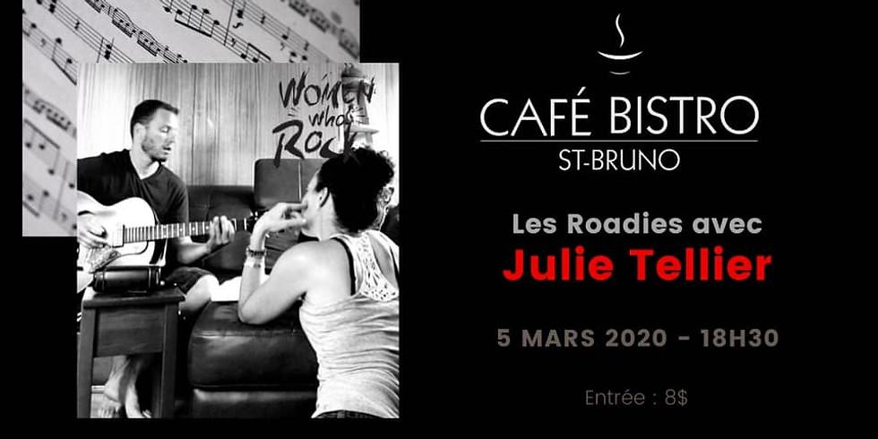 Les Roadies au Cafe Bistro St-Bruno