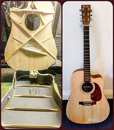 Martin Soundboard Replacement