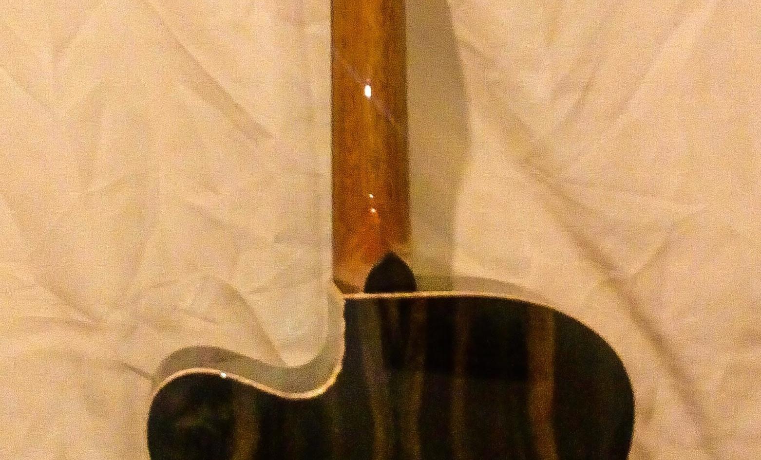 Ebony Irish Handmade OM GuitarEbony Irish Handmade OM Guitar
