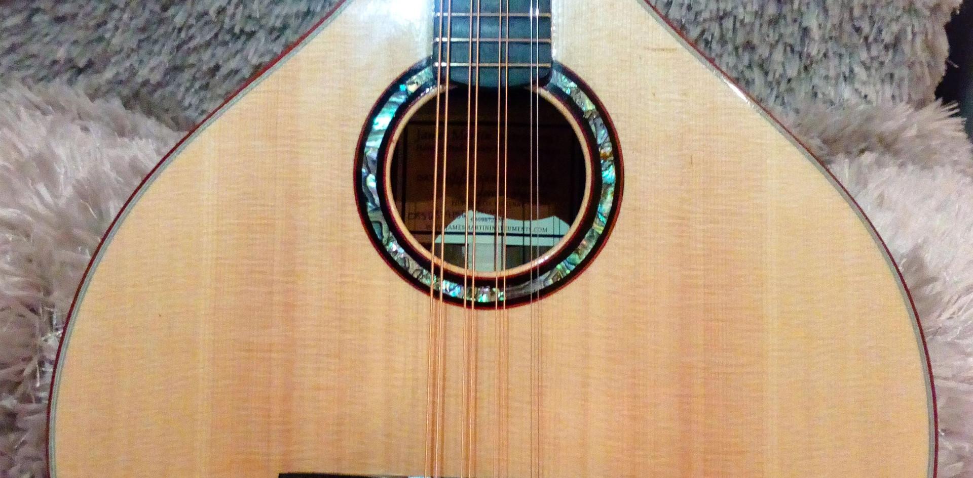 Handmade Pau Ferro Octave MandolinHandmade Pau Ferro Octave Mandolin